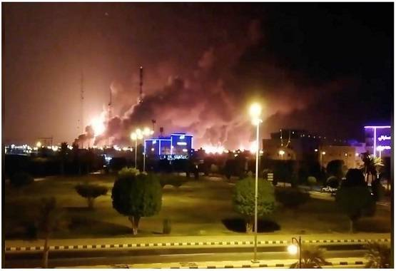 drone attack on saudi arabia oil company in bengali