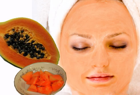 get glowing velvet skin from papaya in bengali