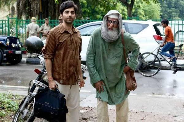Amitabh-Ayushmann's film's first look viral