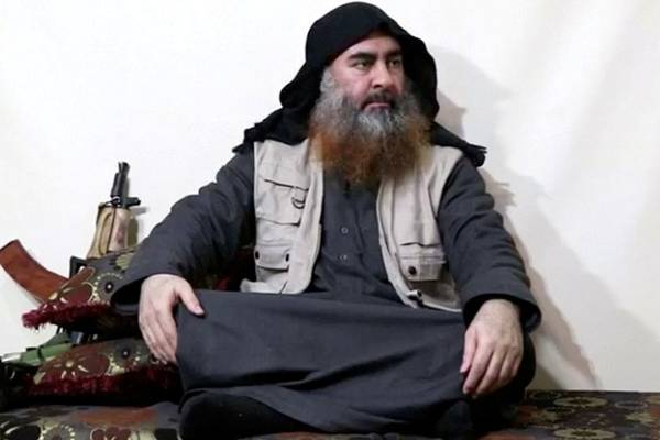Video of abu bakr Baghdadi last moments released US central command