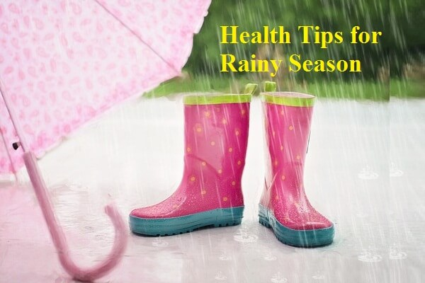 Health Tips For Rainy Season in bengali