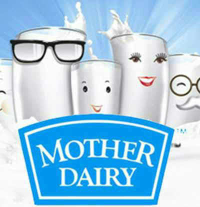Mother dairy Reduce rate 4 rs per ltr for without polythin