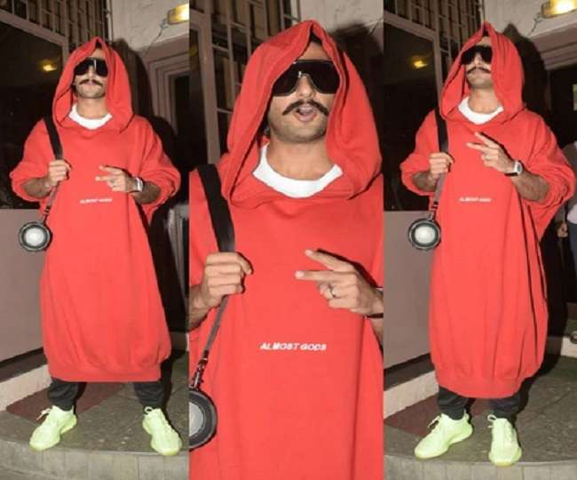 Ranbir singh trolled for his outfit in bengali