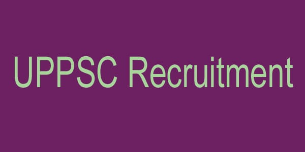 UPPSC Recruitment advertisement in bengali