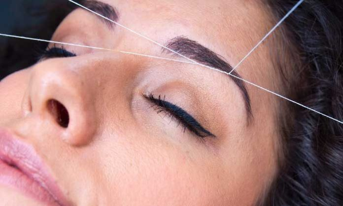 eyebrow threading tips and tricks in bengali