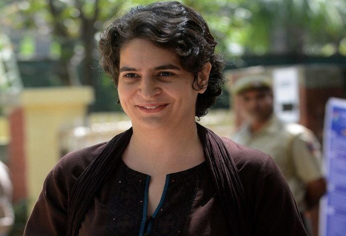 priyanka gandhi attack on yogi adityanath government