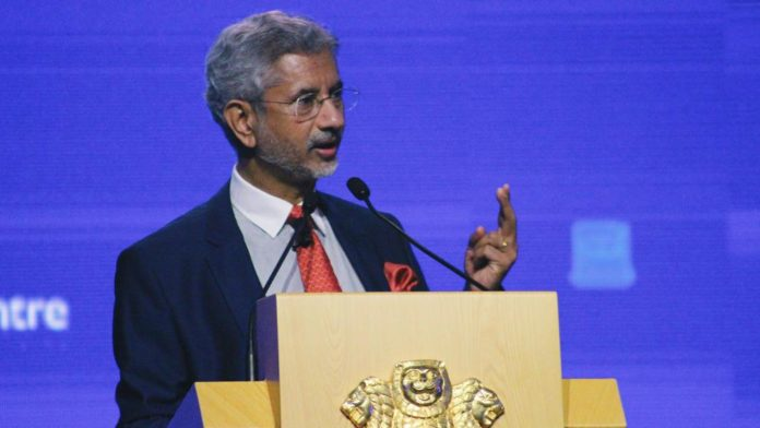 s jaishankar india on economic summit world forum in bengali