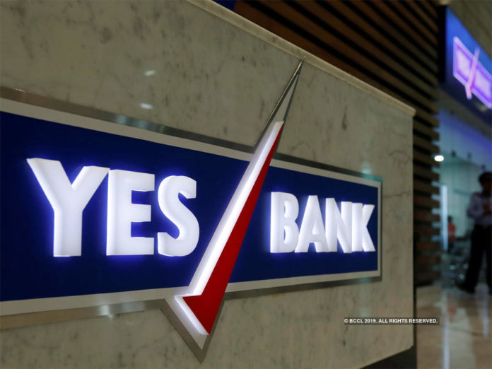 share market sensex yes bank increase by 15 percent