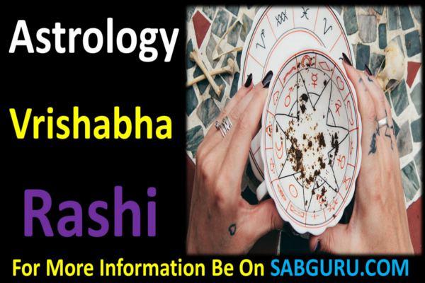 Vrishabha rashifal 1 November 2019