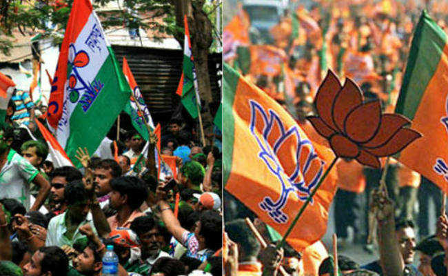 BJP and Trinamool supporters clash in bengal