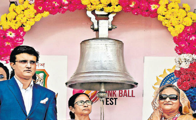 The first pink Test match comes in the gong in bengali