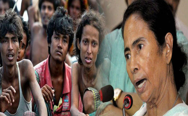 bangladesh is troubled by rohingya mamta is giving support