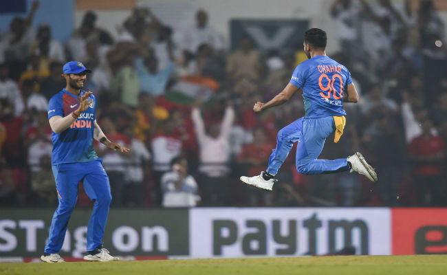 deepak chahar t20 hat trick wicket record