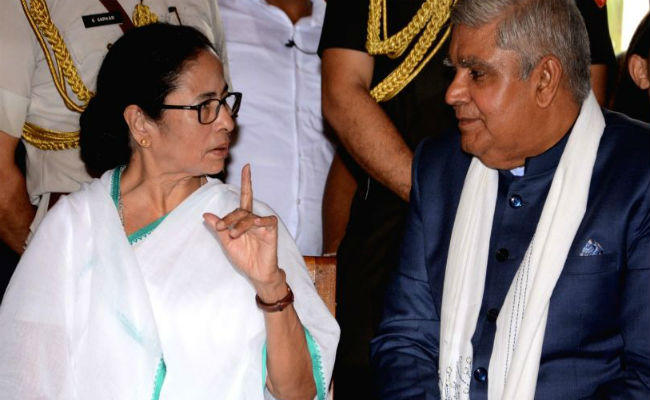 governor and chief minister again face to face in bengal