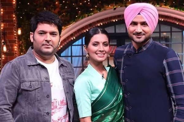 Harbhajan singh talks about his favorite bollywood heroines on kapil sharma show