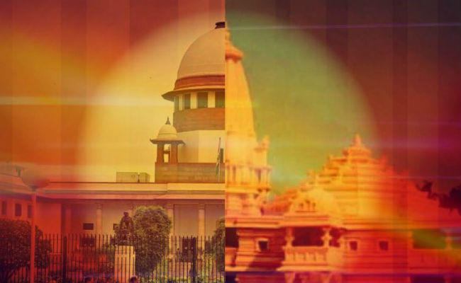 on ayodhya issue appeal to maintain brotherhood
