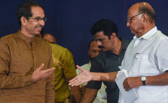 swearing in ceremony uddhav meets pawar council of minister