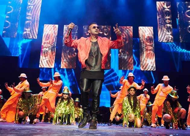 yo yo honey singh starring performance in abu dhabi