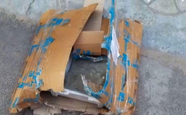 flipkart user ordered rs 27500 camera pieces of tiles found