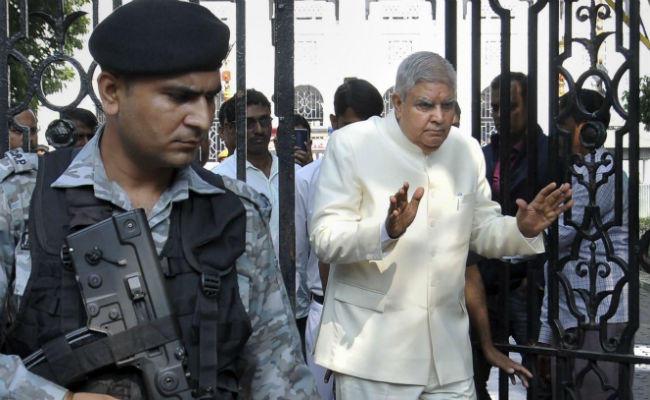 mamta banarjee jagdeep dhankar quarrel negotiation ready kolkata